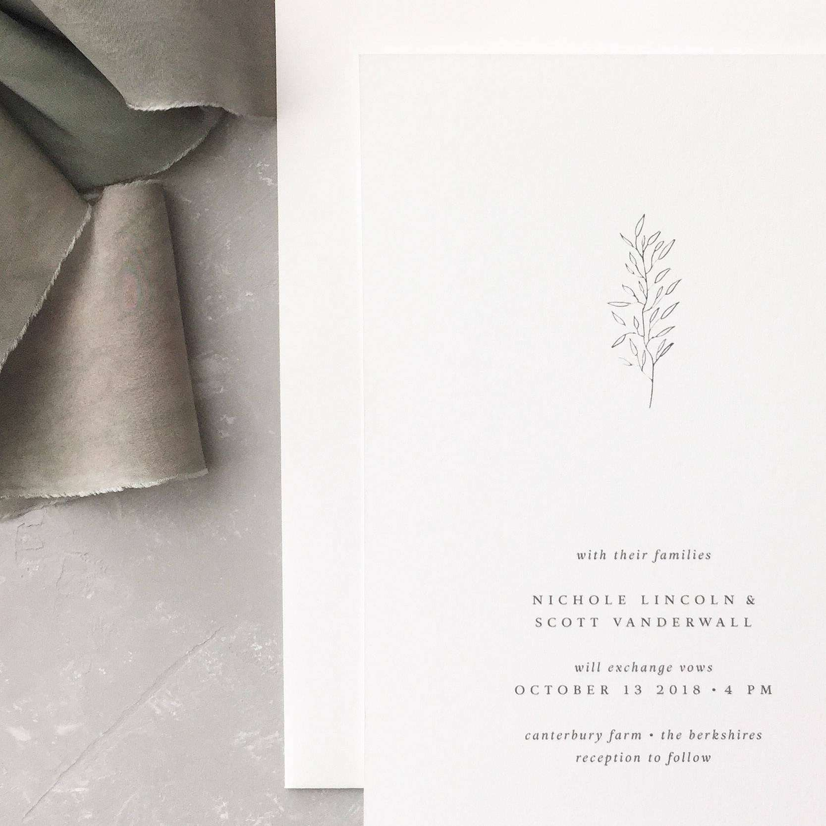 Gallery Minimalist Wedding Invitations: 10 Chic Minimalist Wedding Invitations