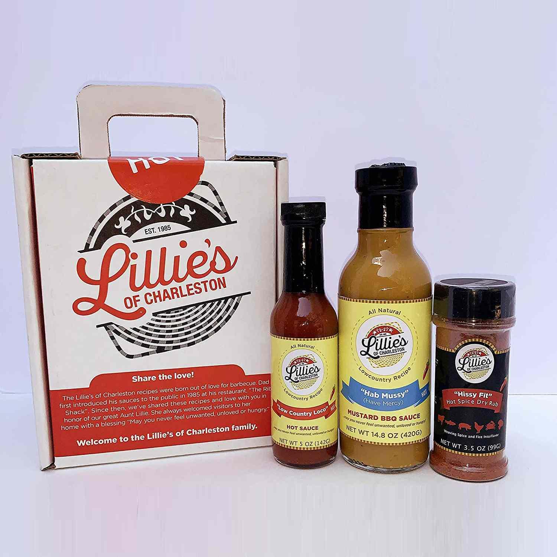 Amazon Lillie's of Charleston 3 ct. Hot Variety Gift Box