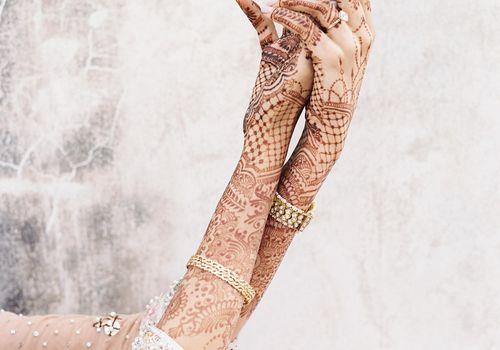 Indian Hand Tattoo