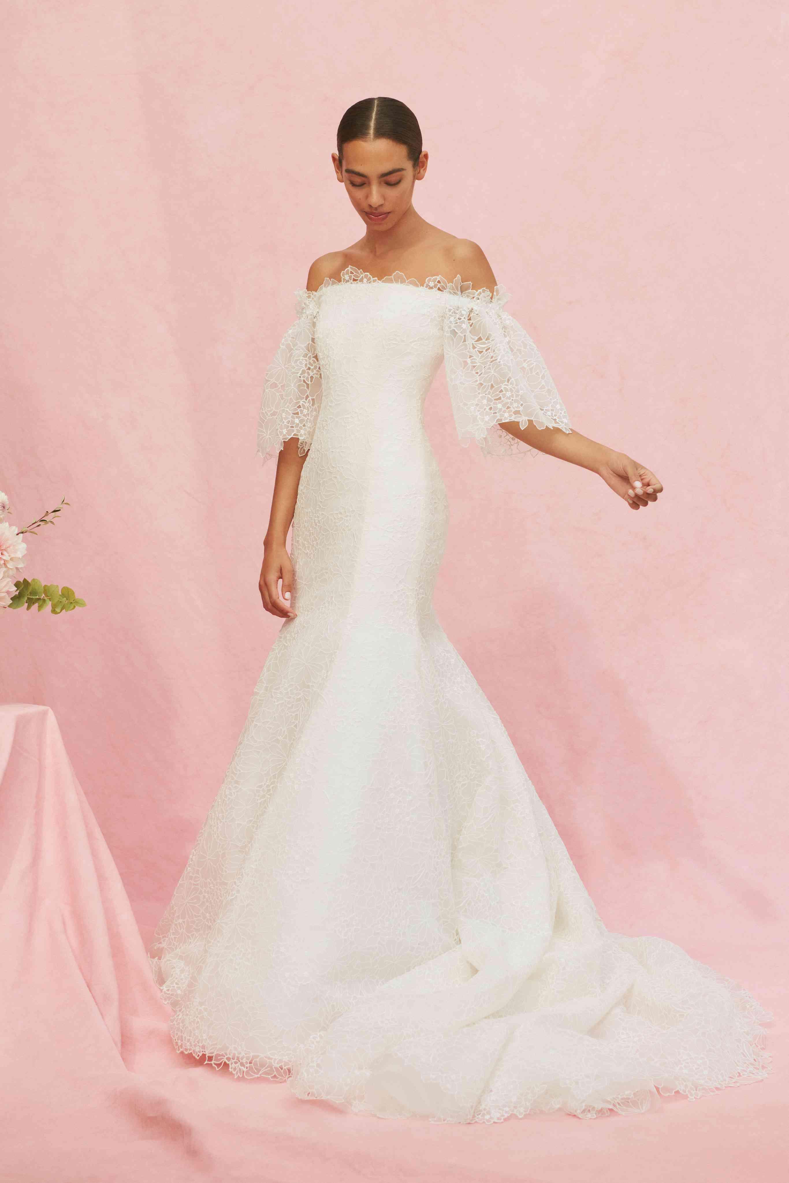 Carolina Herrera Bridal Wedding Dress Collection Fall 2020