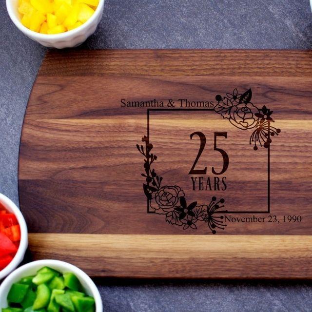 BlueRidgeMountainCo 25th Anniversary Cutting Board