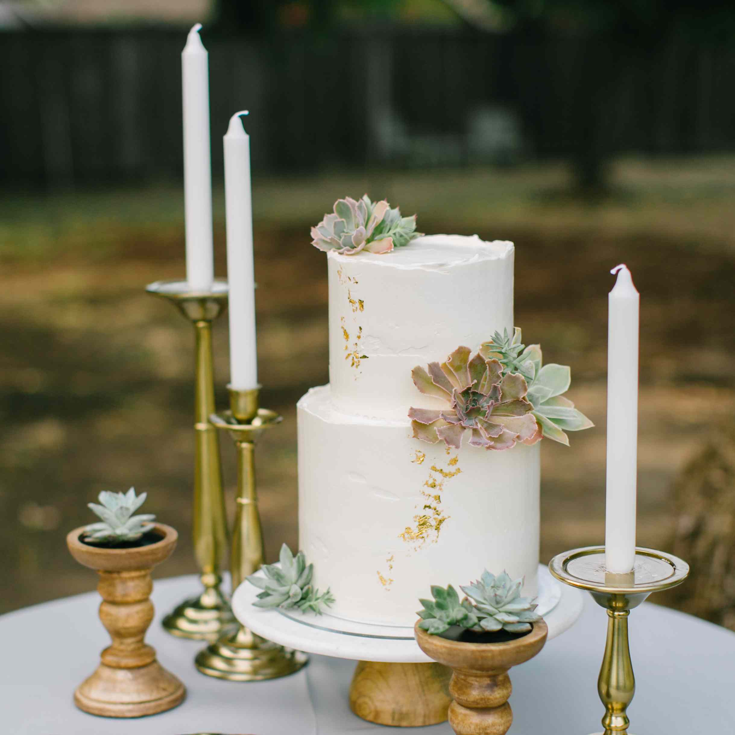 21 Succulent Wedding Cakes