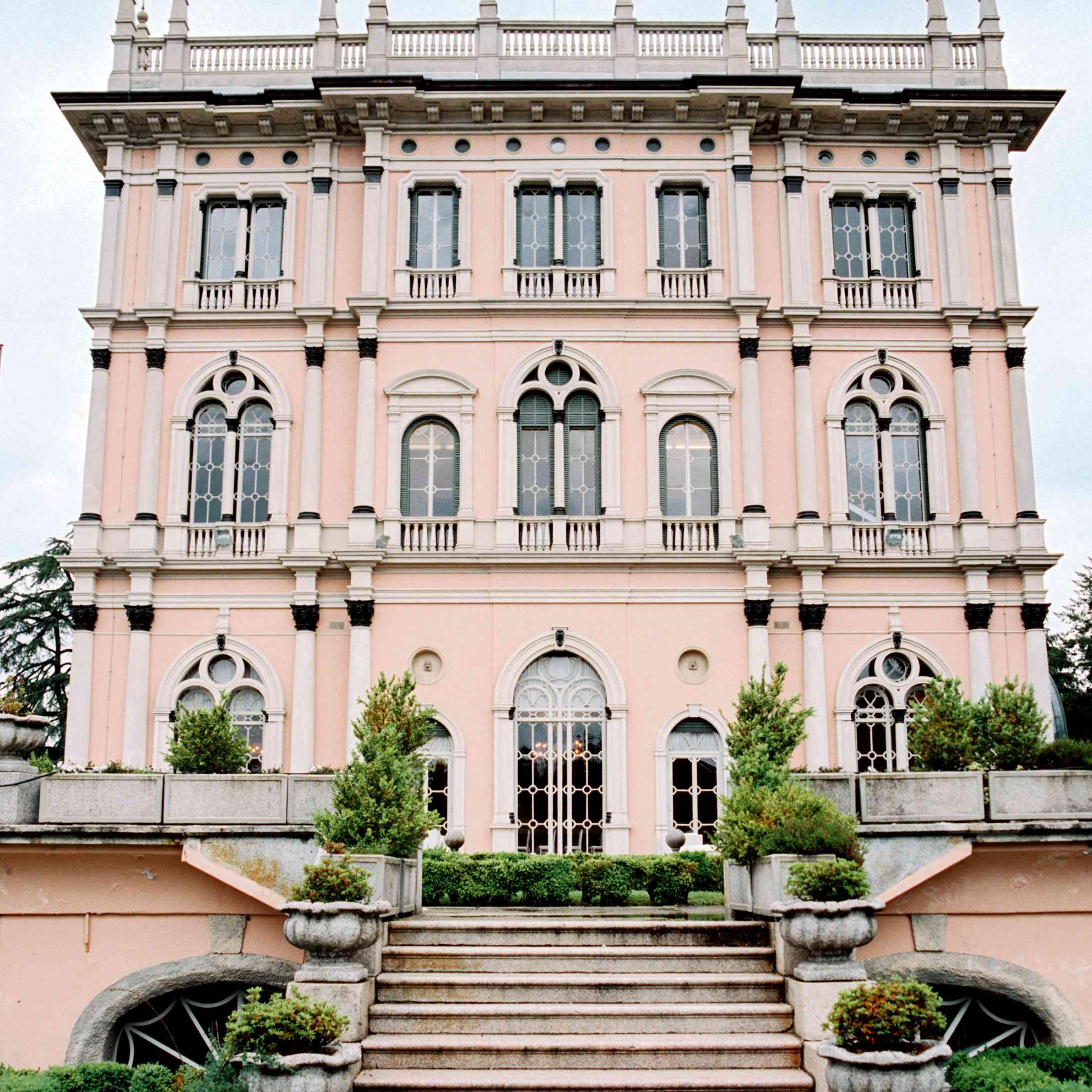 Northern Italian Wedding, Villa Ponti