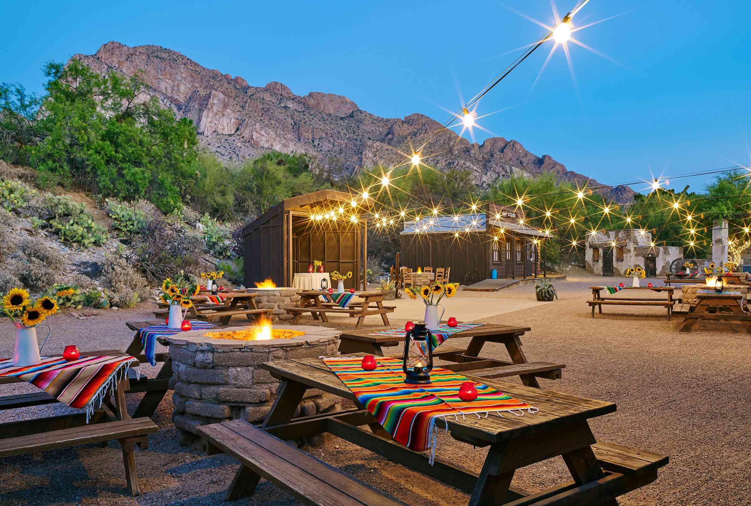 El Conquistador Tucson yard
