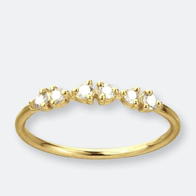 WWAKE Demi-Paired Diamond Ring
