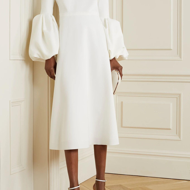 puff sleeves dress