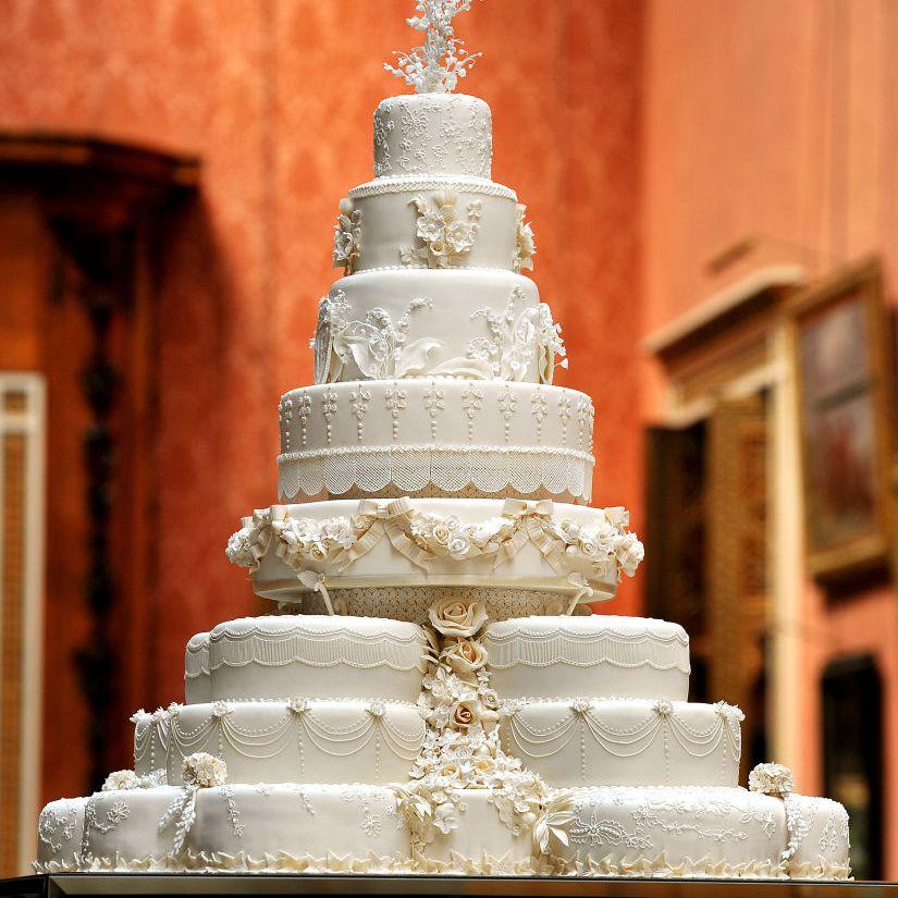 Kate Middleton and Prince William's wedding cake