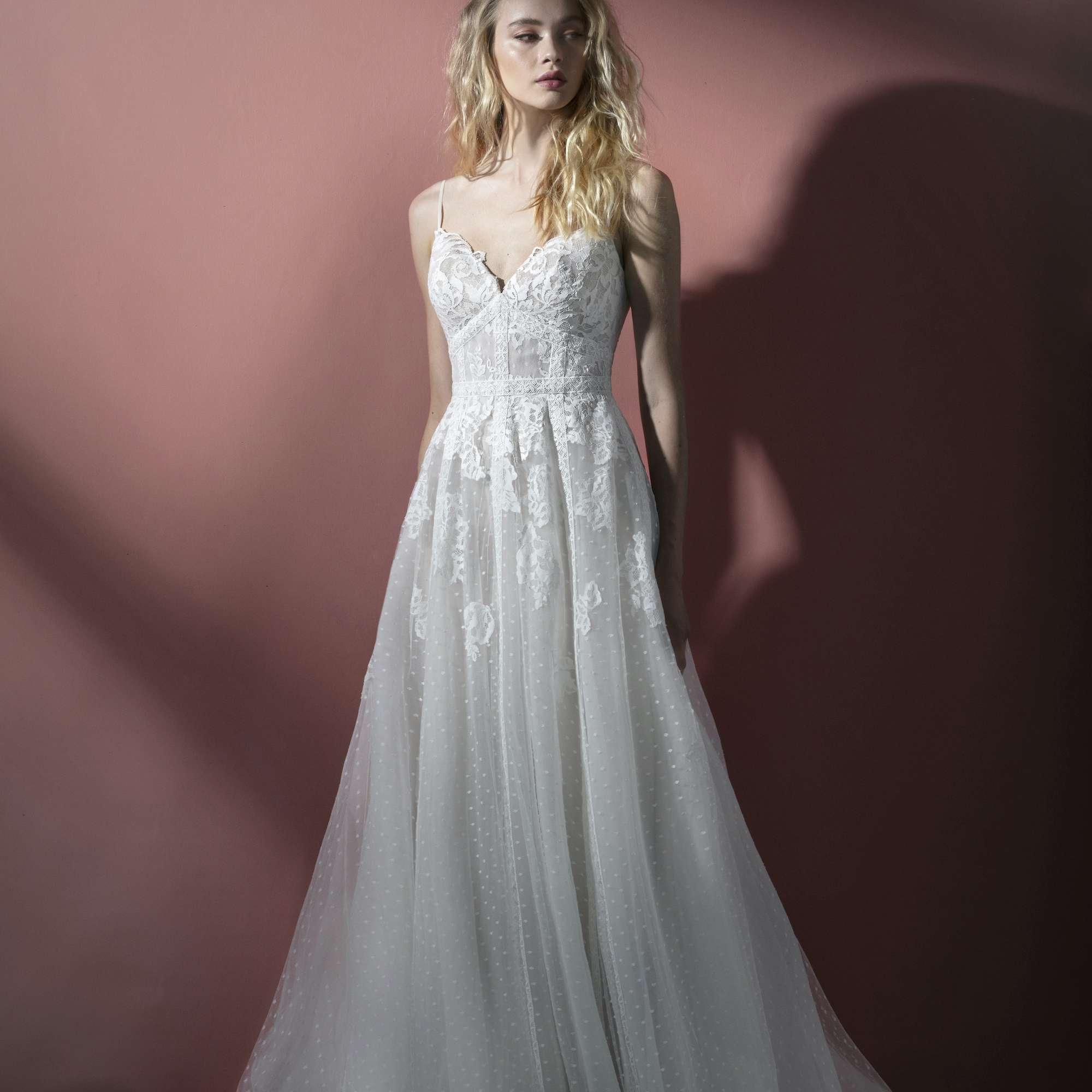 Lennie A-line wedding dress