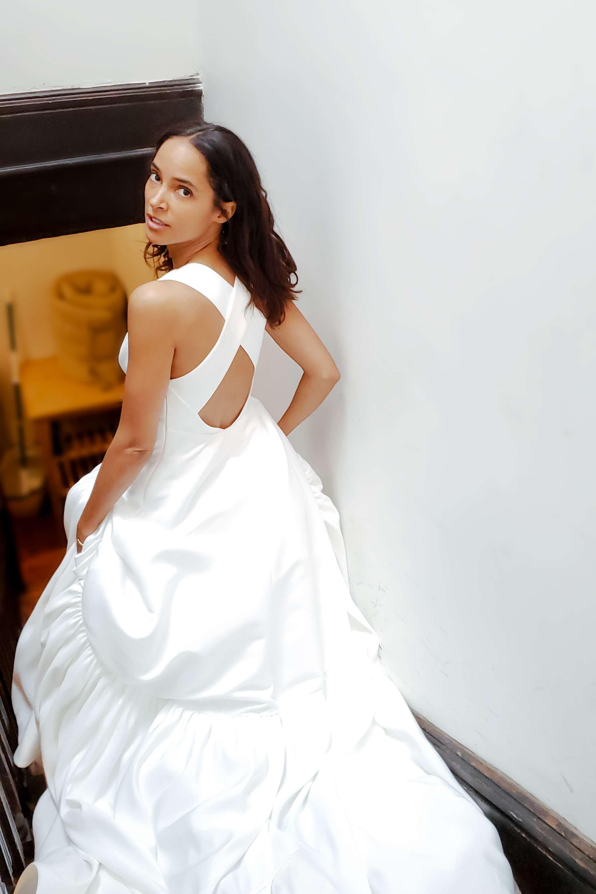 nouvelle amsale dress