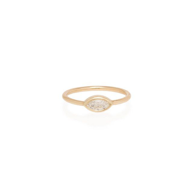 Zoë Chicco 14k Large Marquise Diamond Ring