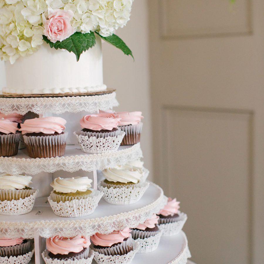 19 Cupcake Wedding Cake Ideas