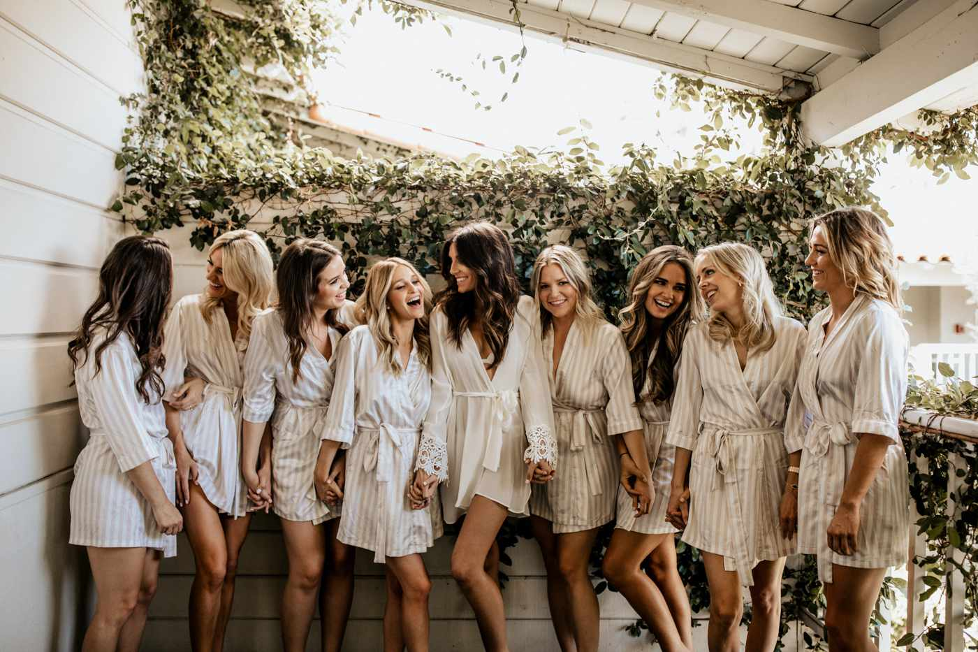 wedding bridal party robes