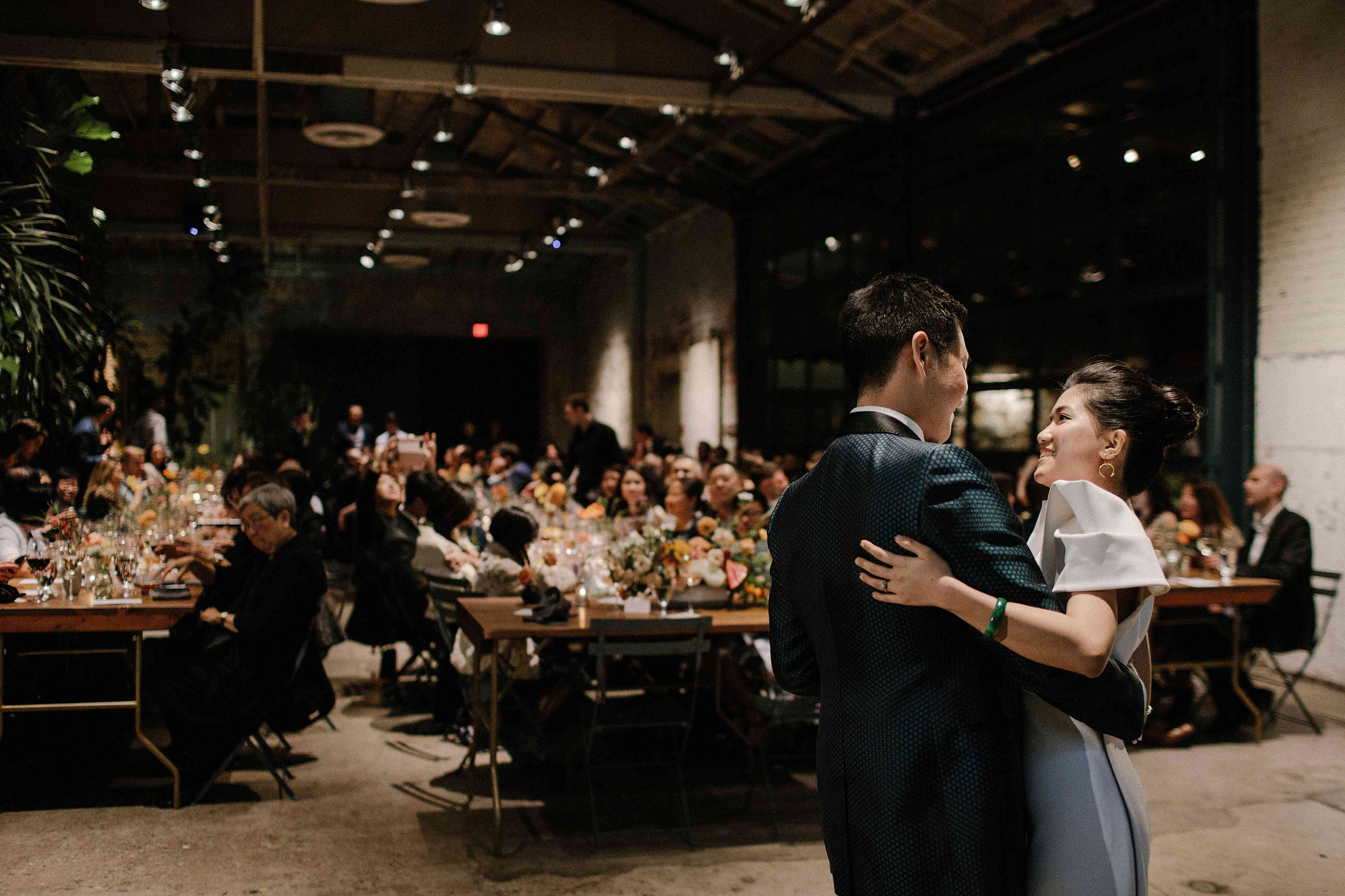 <p>Bride and groom during dance</p><br><br>
