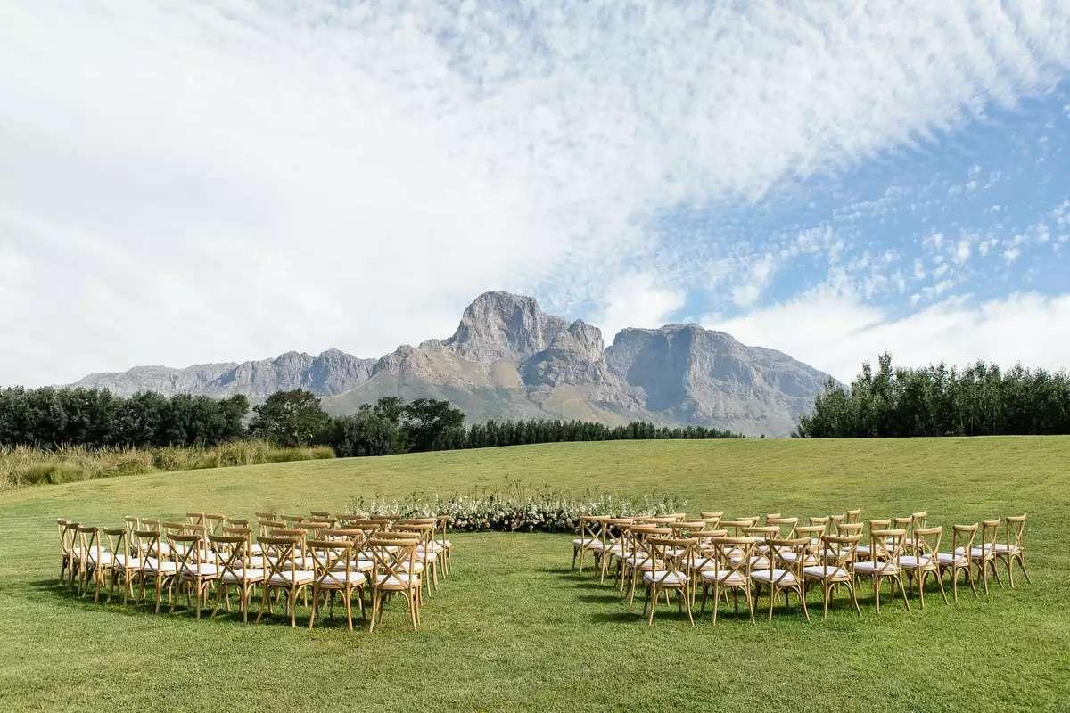 Franschhoek, South Africa wedding
