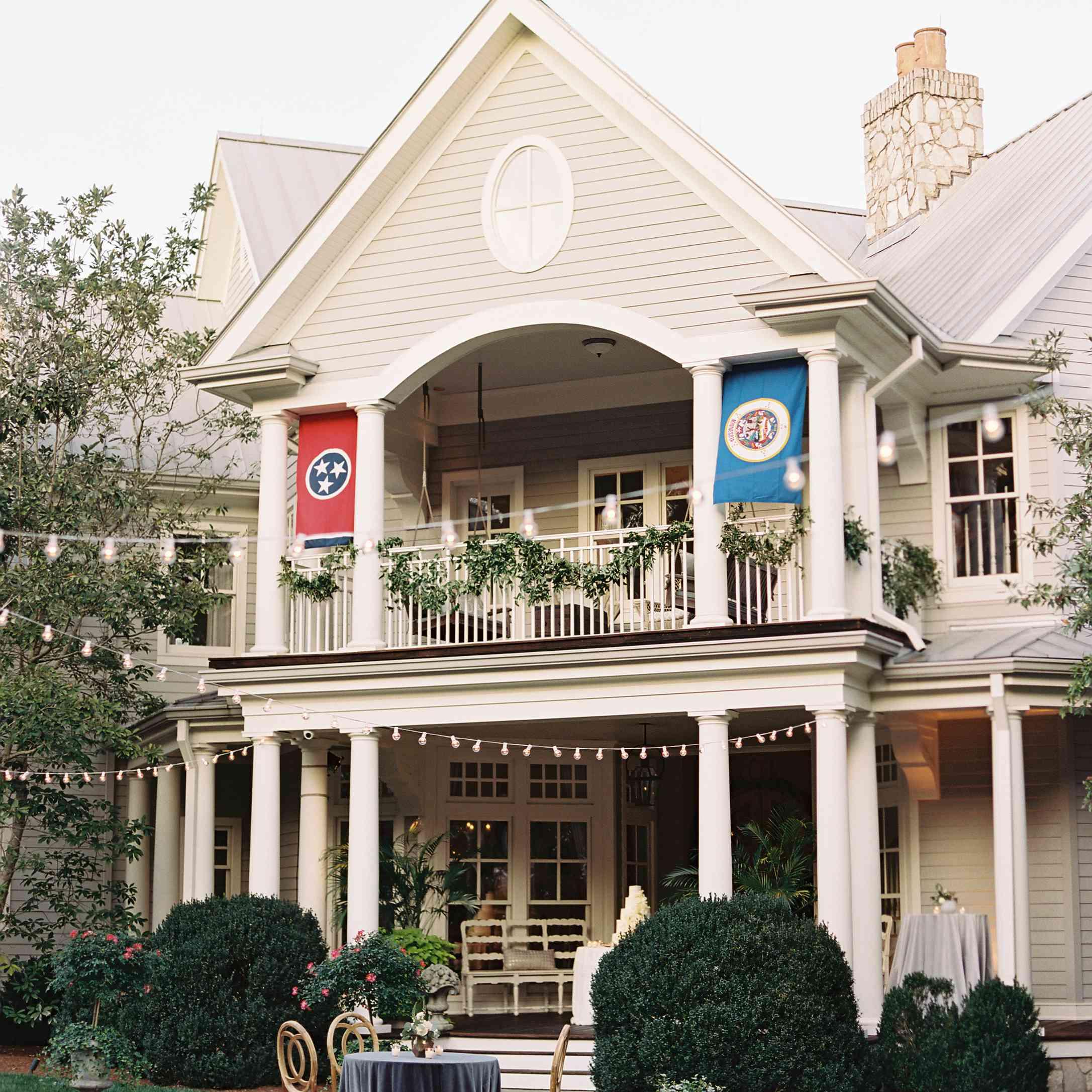 <p>Bride's home</p><br><br>