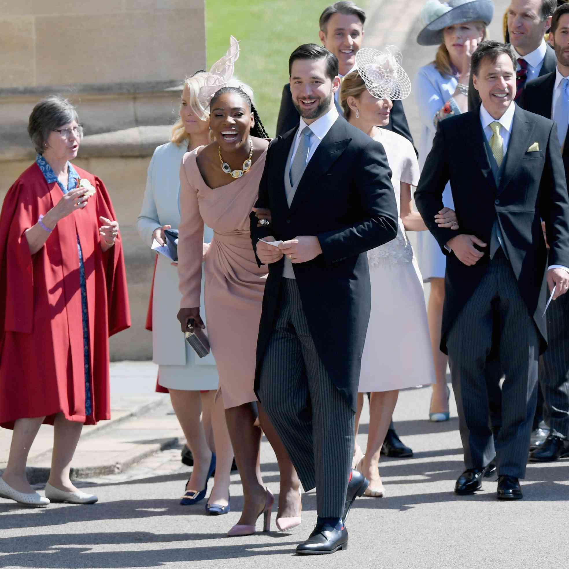 Serena Williams Royal Wedding.Royal Wedding Live Serena Williams And Priyanka Chopra Go Glam For