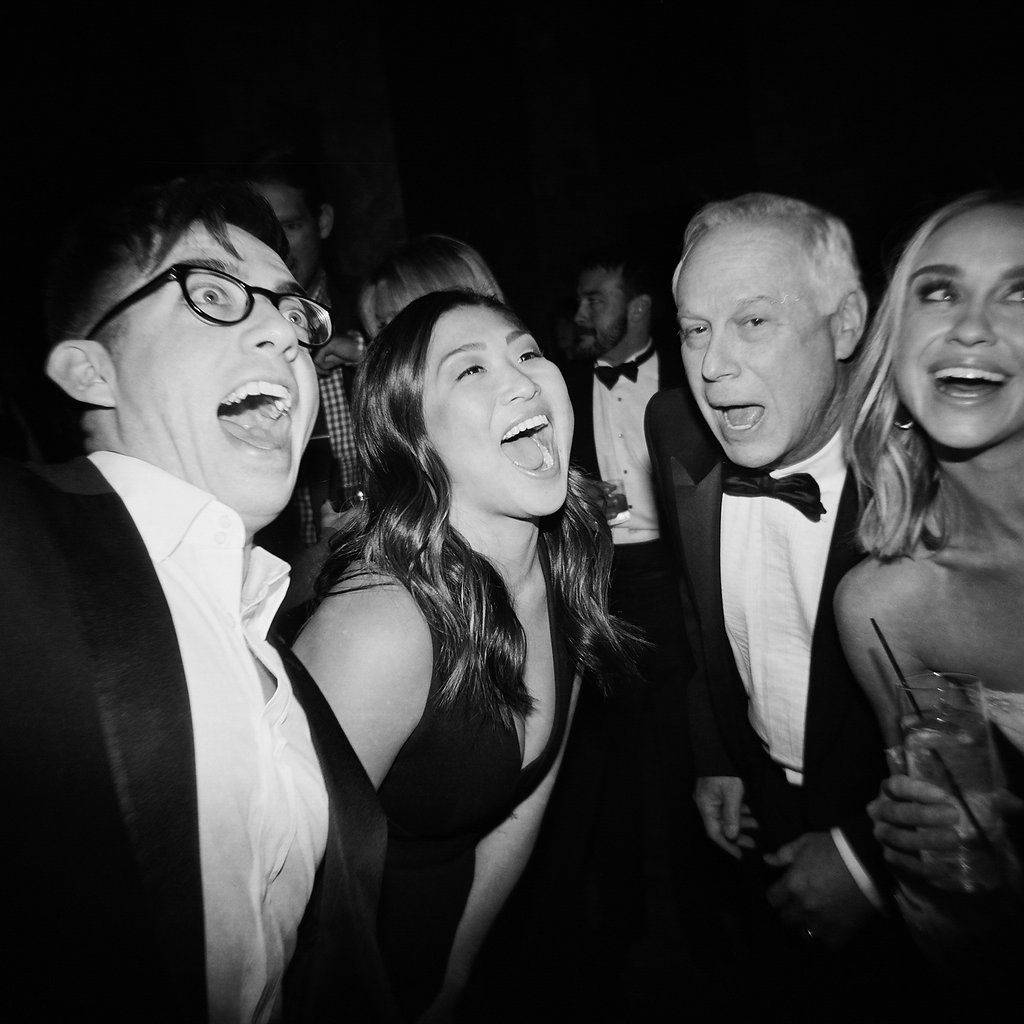 Glee Stars at Becca Tobin's Wedding