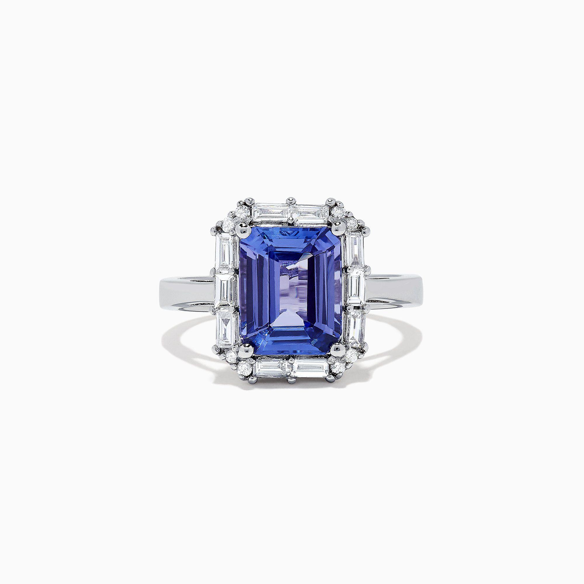 Effy Tanzanite Royale Tanzanite and Diamond Ring