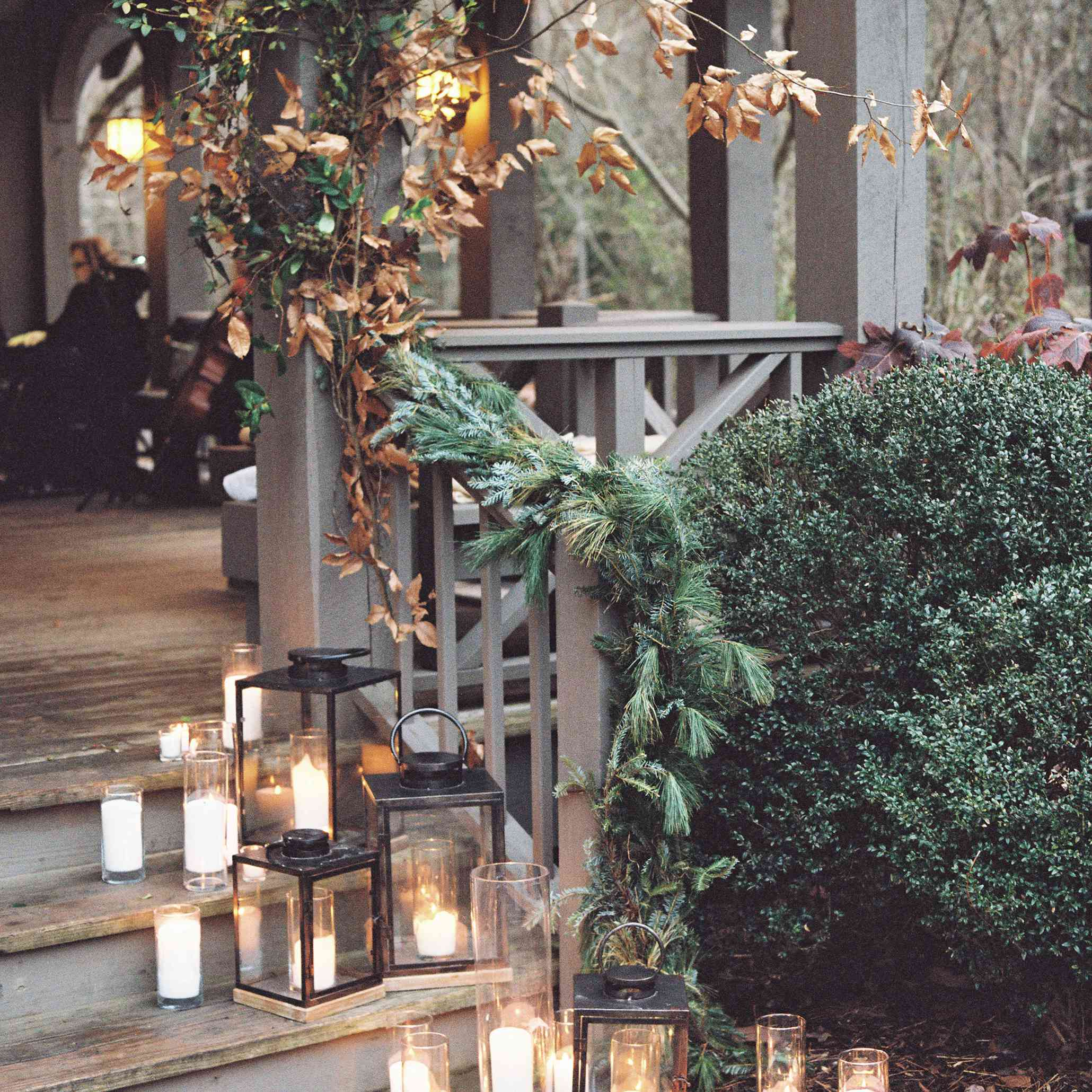 candle and lantern decor