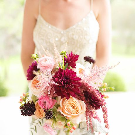 Bright natural bouquet