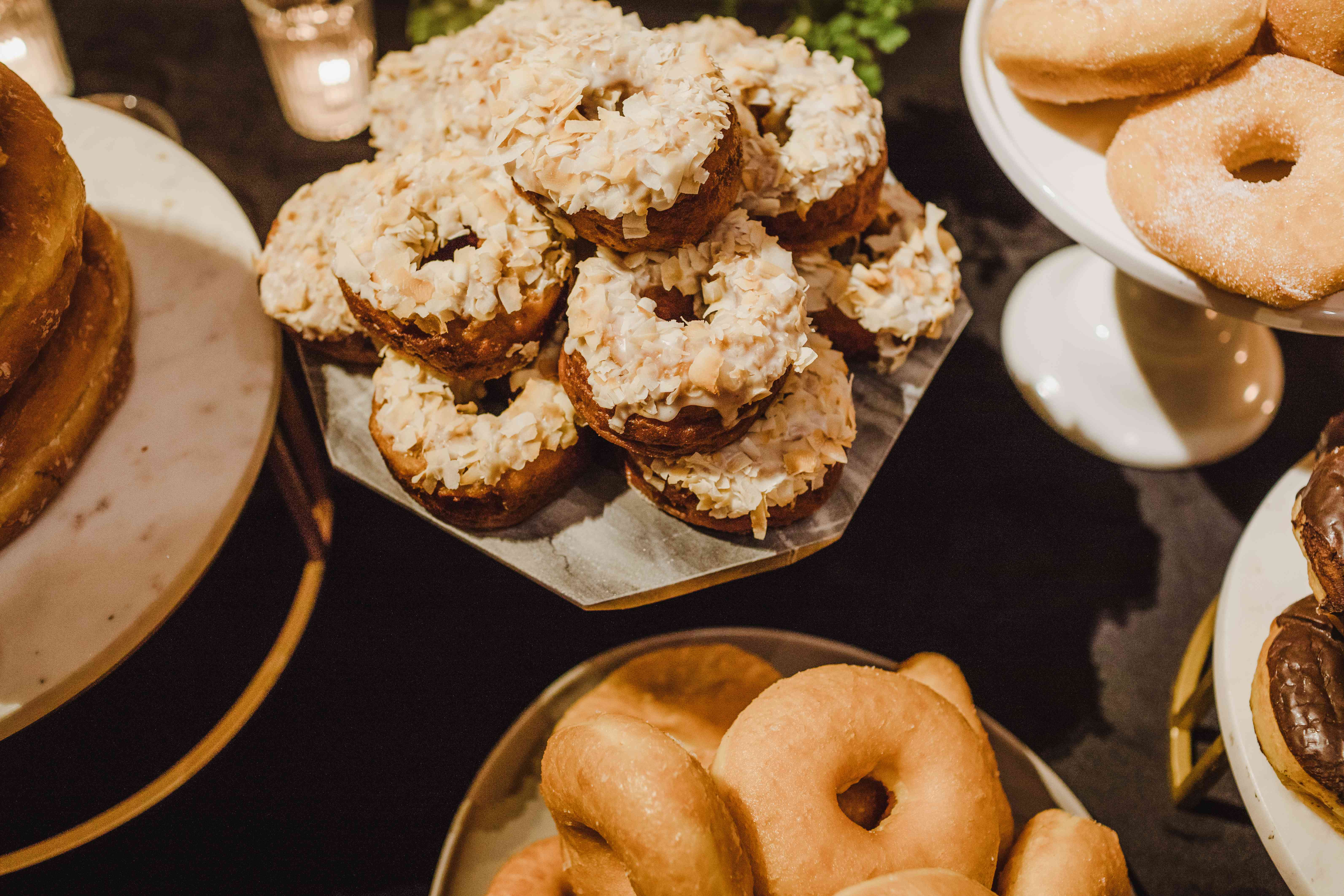 <p>donuts</p><br><br>