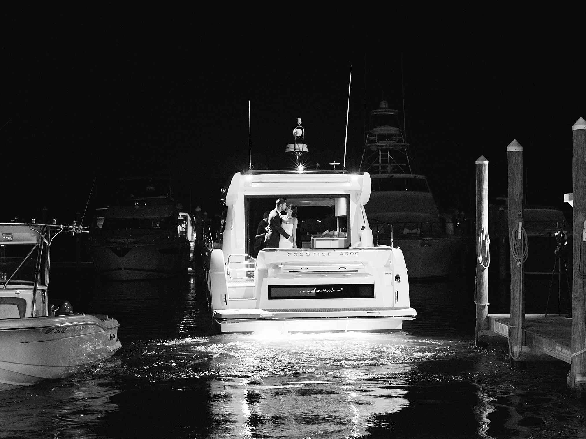 boat getaway ride