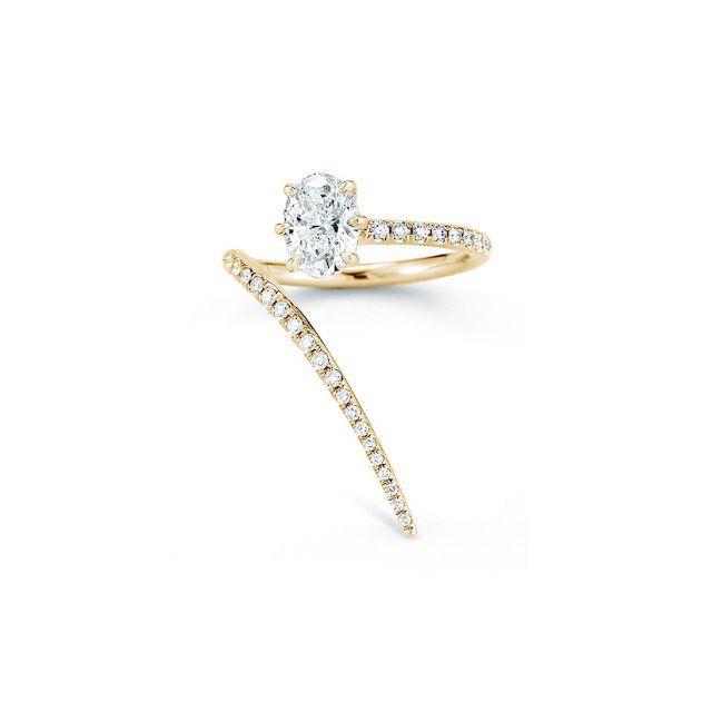 Jade Trau Rae Wrap Ring With Pavé