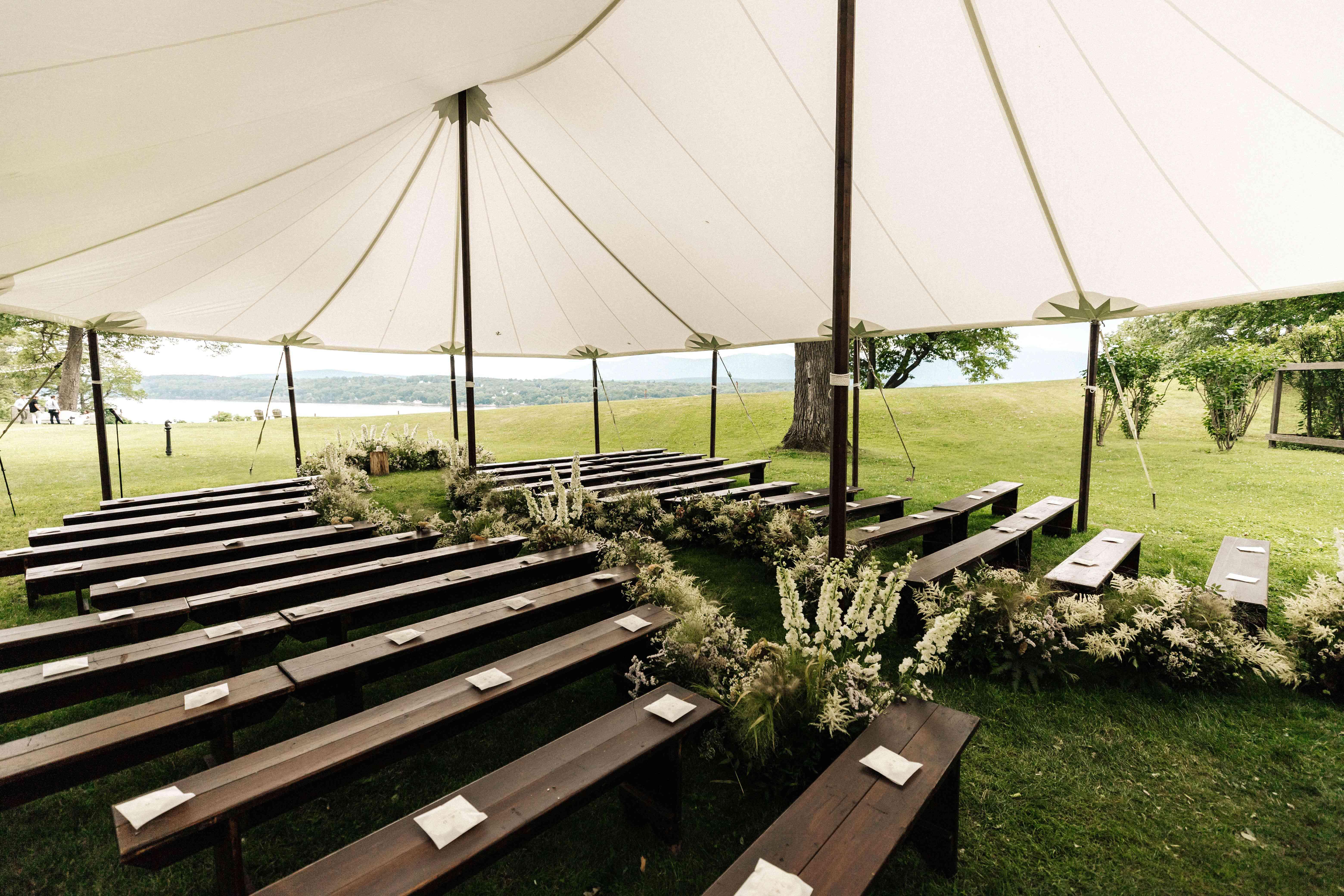 Tented altar