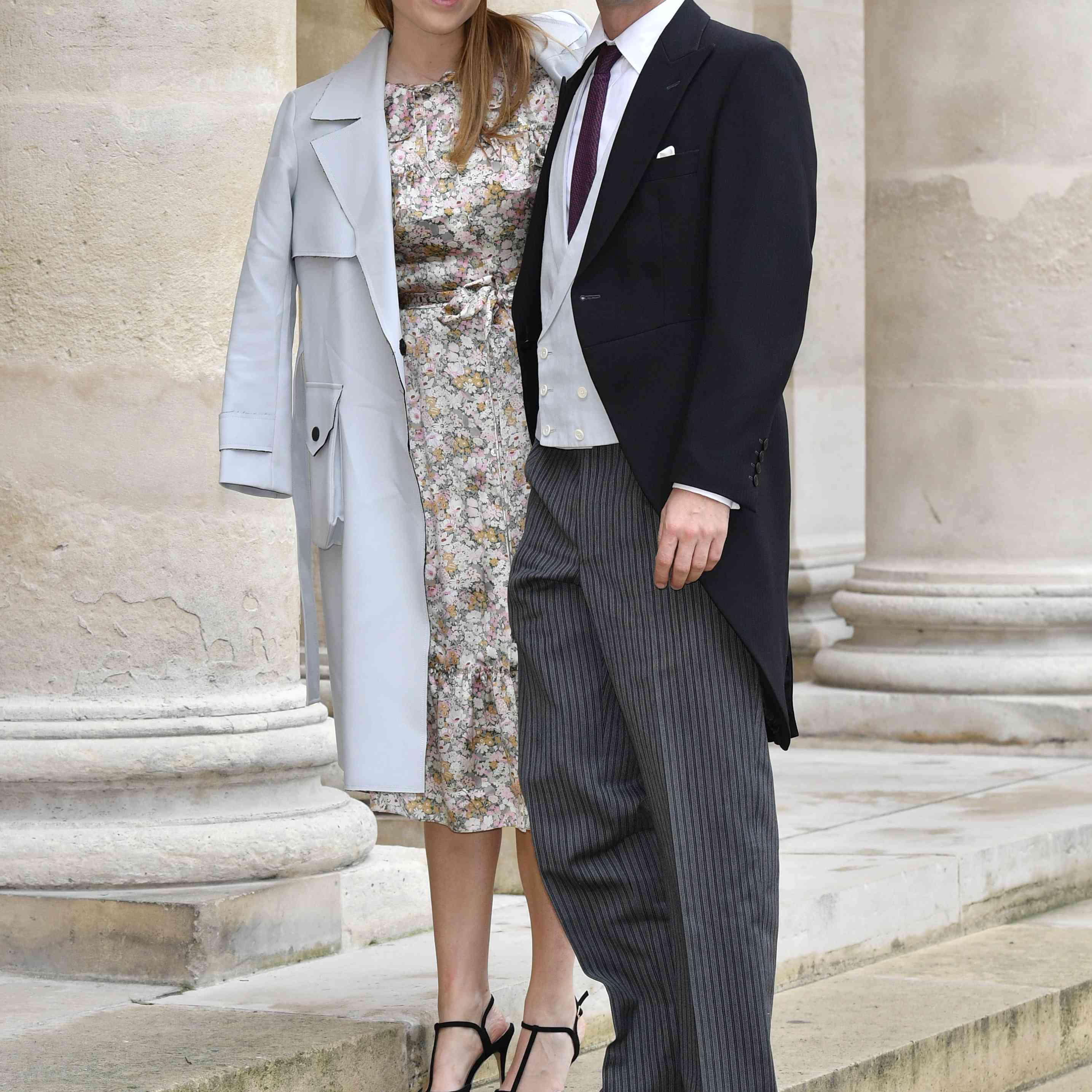 Princess Beatrice and fiancé