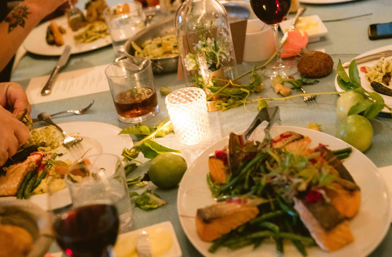 Wedding Reception Meal Styles Menu Ideas