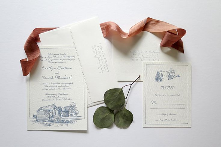 Inexpensive Ways To Dress Up Your Wedding Invitation Suite