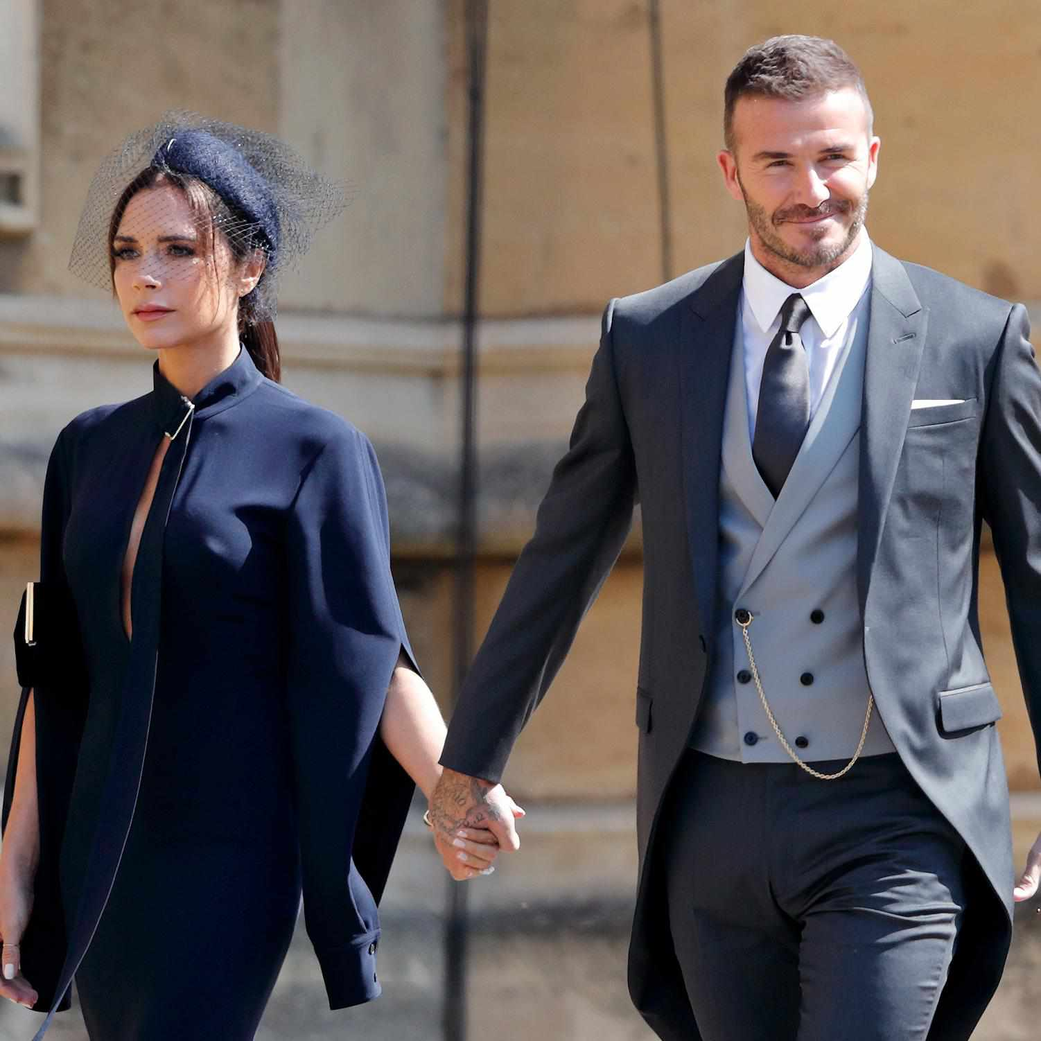 victoria beckham's dress from the royal wedding is now
