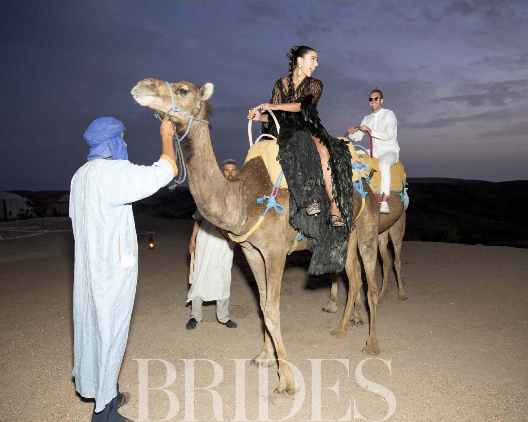 Bride on Camel in Morocco