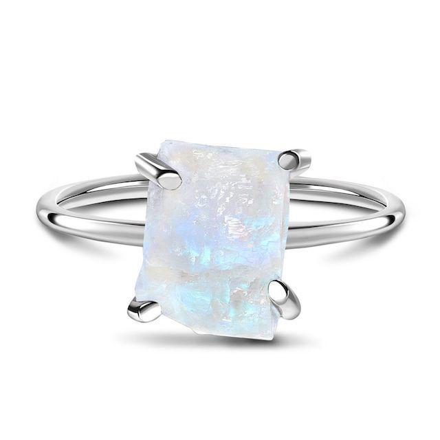 Moon Magic Raw Crystal Ring