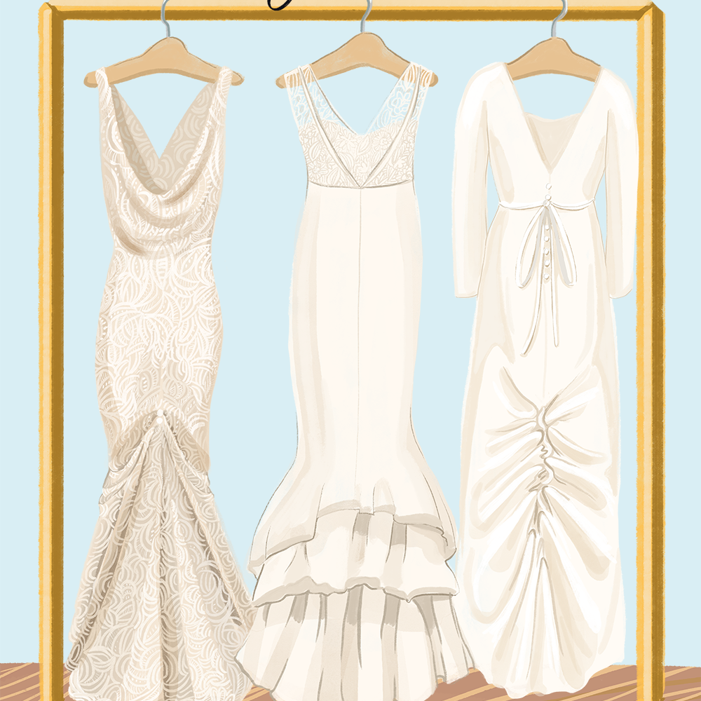 Wedding Dress Bustle Types All The Styles And Tips You Need
