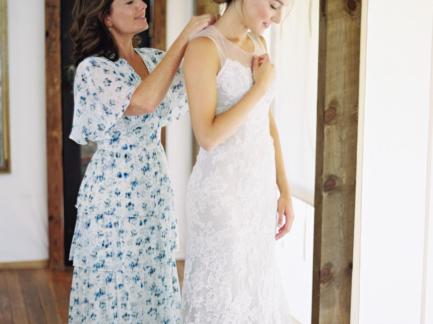 Mother of the Bride//Groom Dresses Guest Long Wedding Matching Plus Size Custom