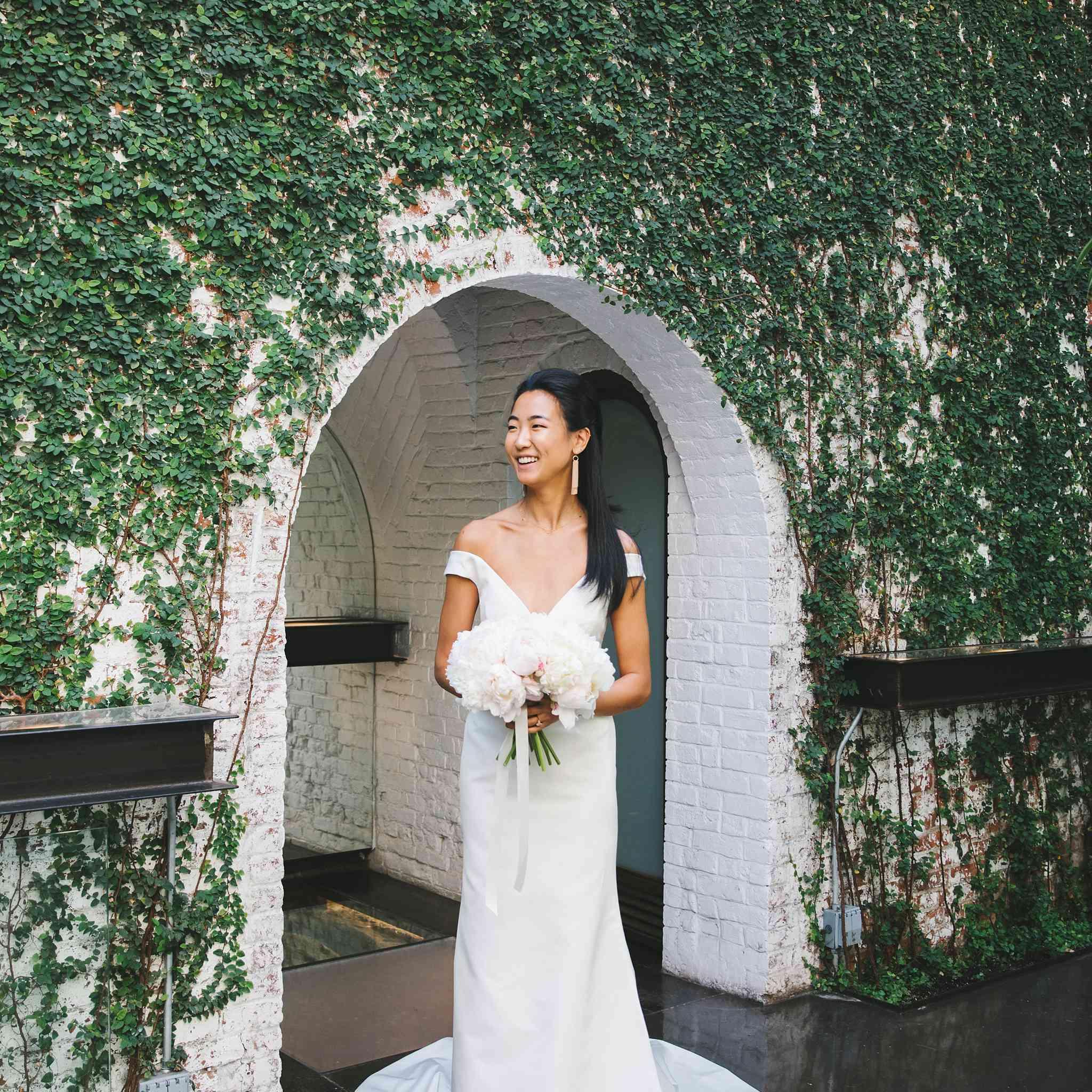 Bride in Austin Scarlett