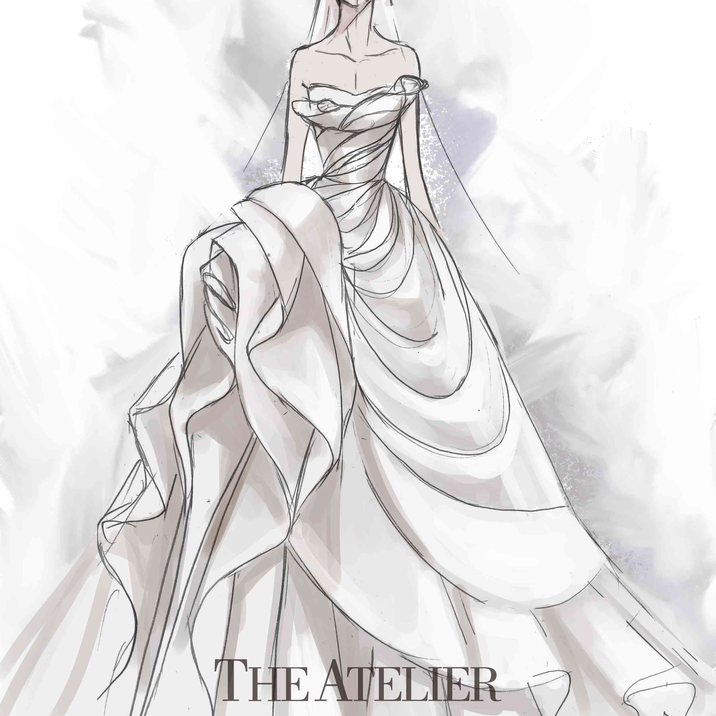 THE ATELIER COUTURE sketches