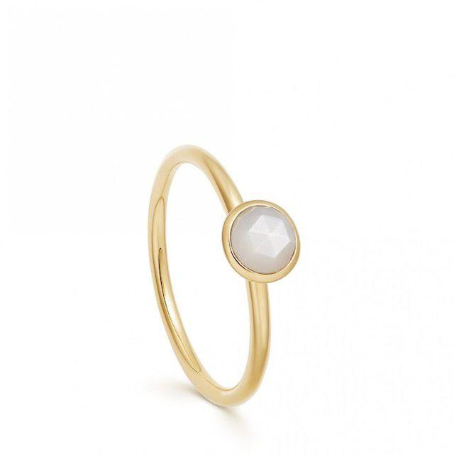 Astley Clarke Mini Stilla Moonstone Ring