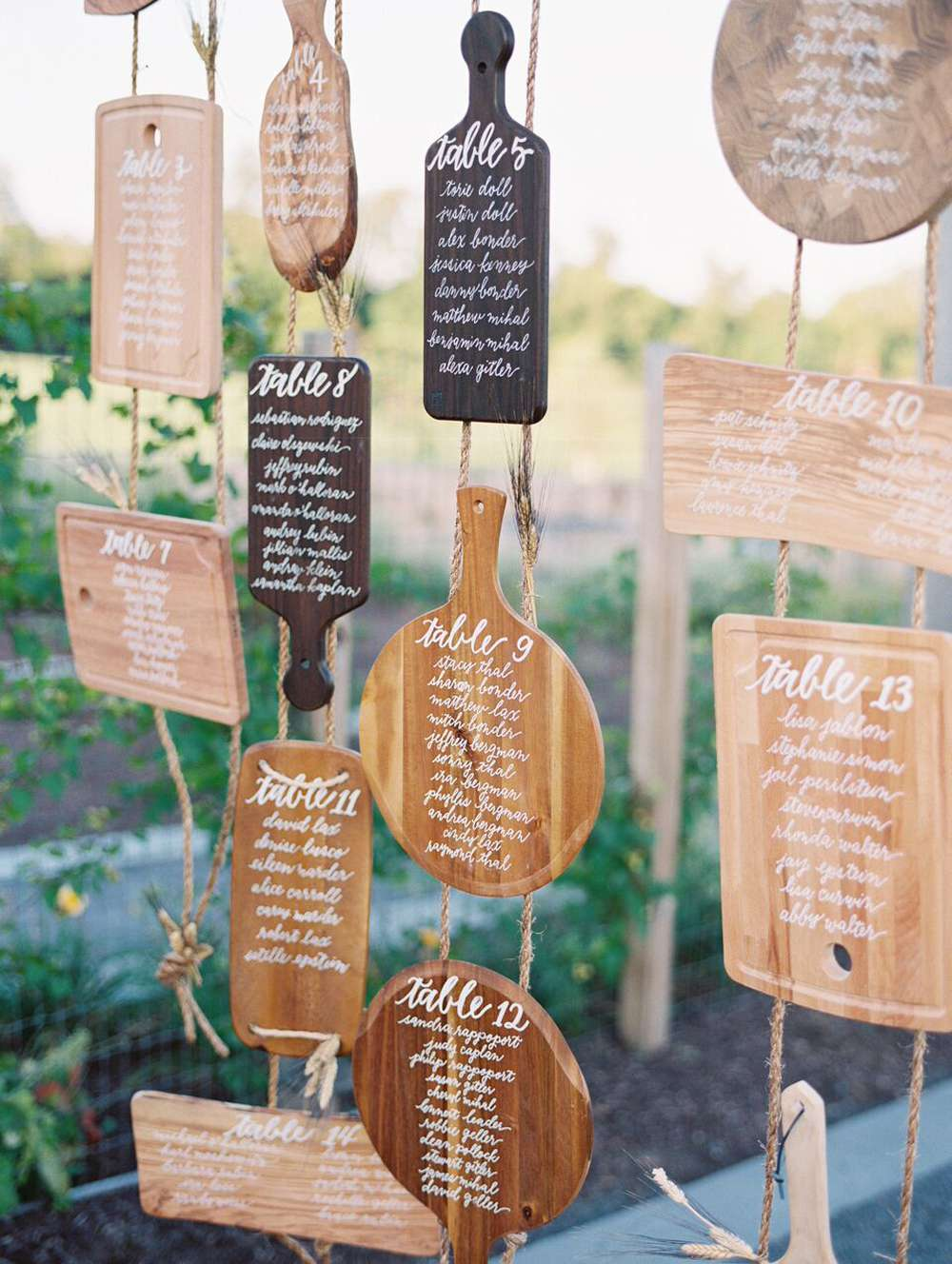 7 Wooden Serving Board Ideas For Your Rustic Wedding