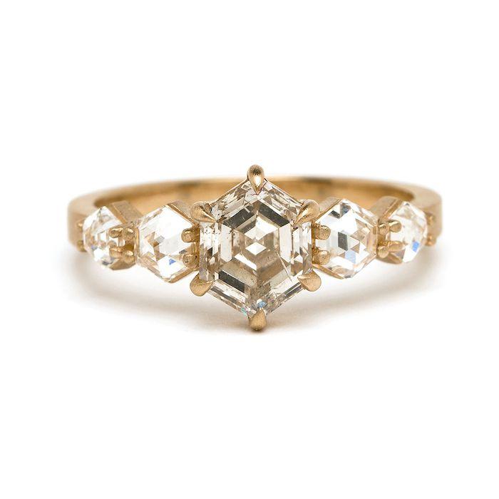 Sofia Kaman Stardust Ring