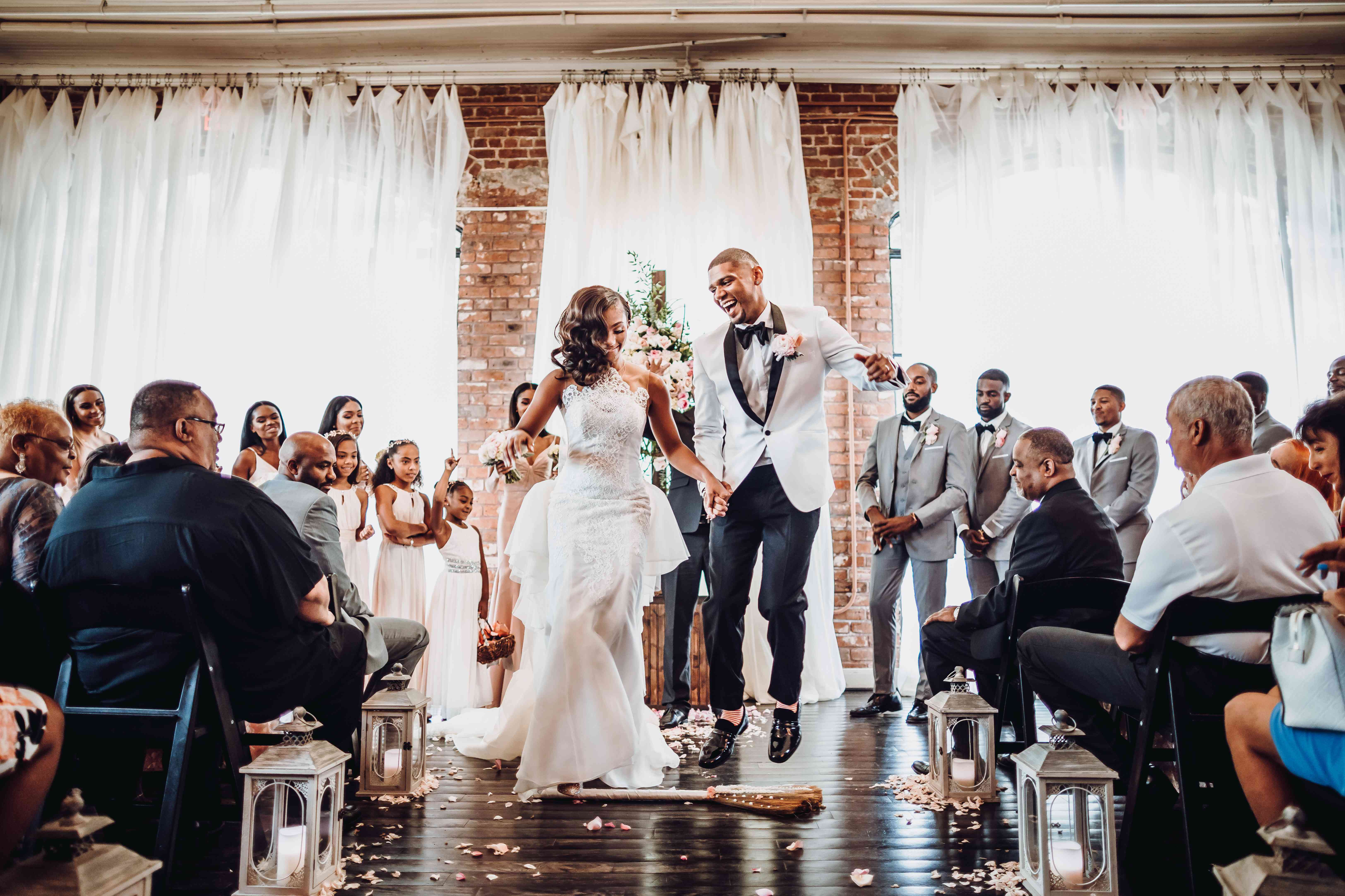 Jumping The Broom From The 18th Century To Present Day