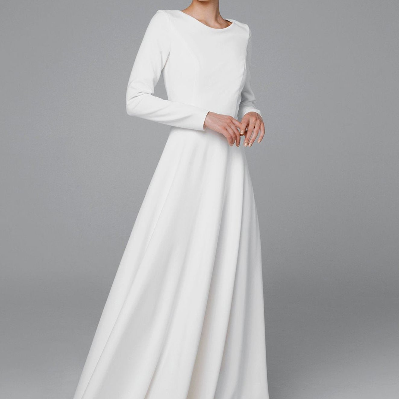 modern gown