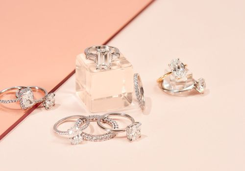 The Clear Cut Engagement Rings