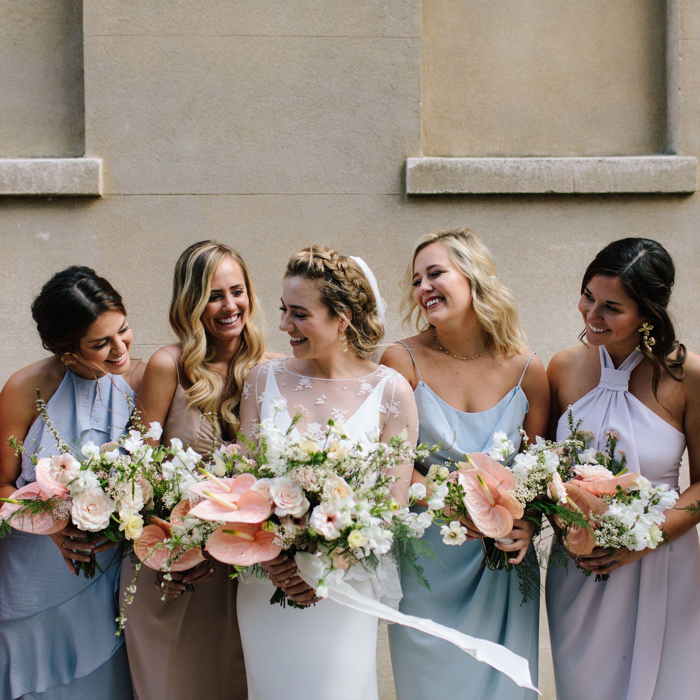 30 Best Pastel Bridesmaid Dresses Of 2021