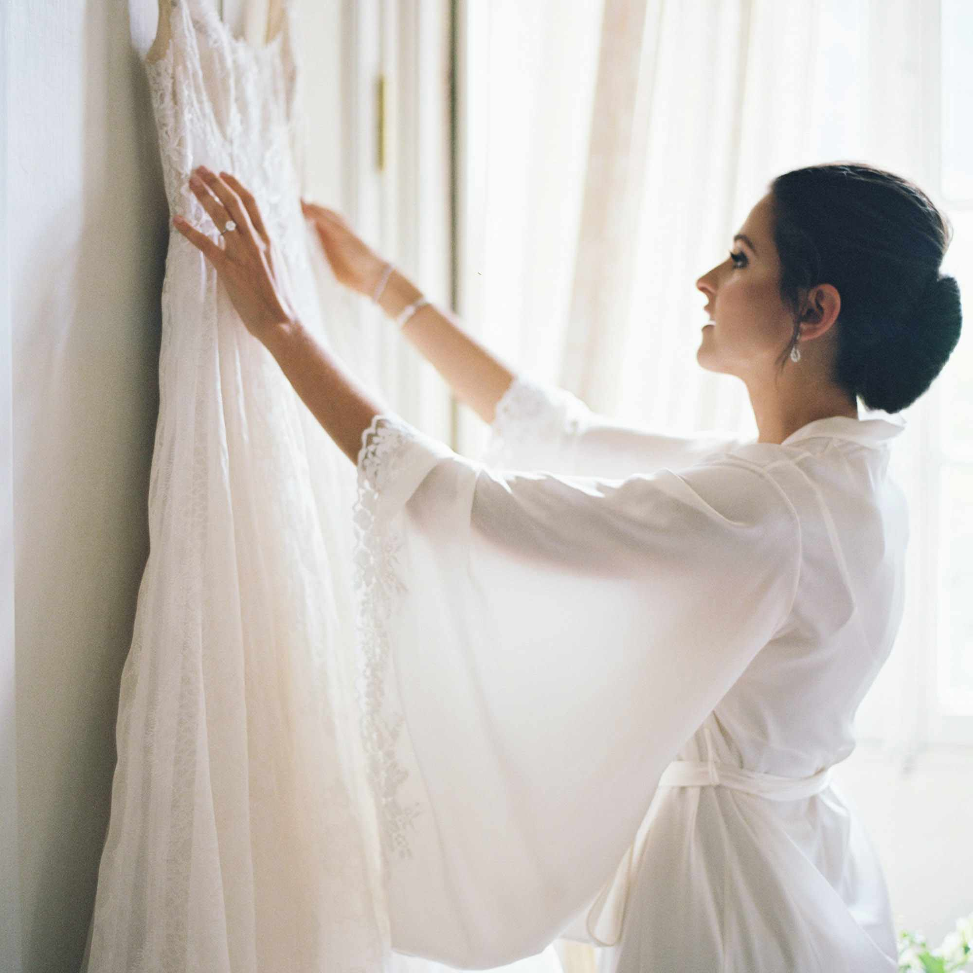 The Bride and Her Dress