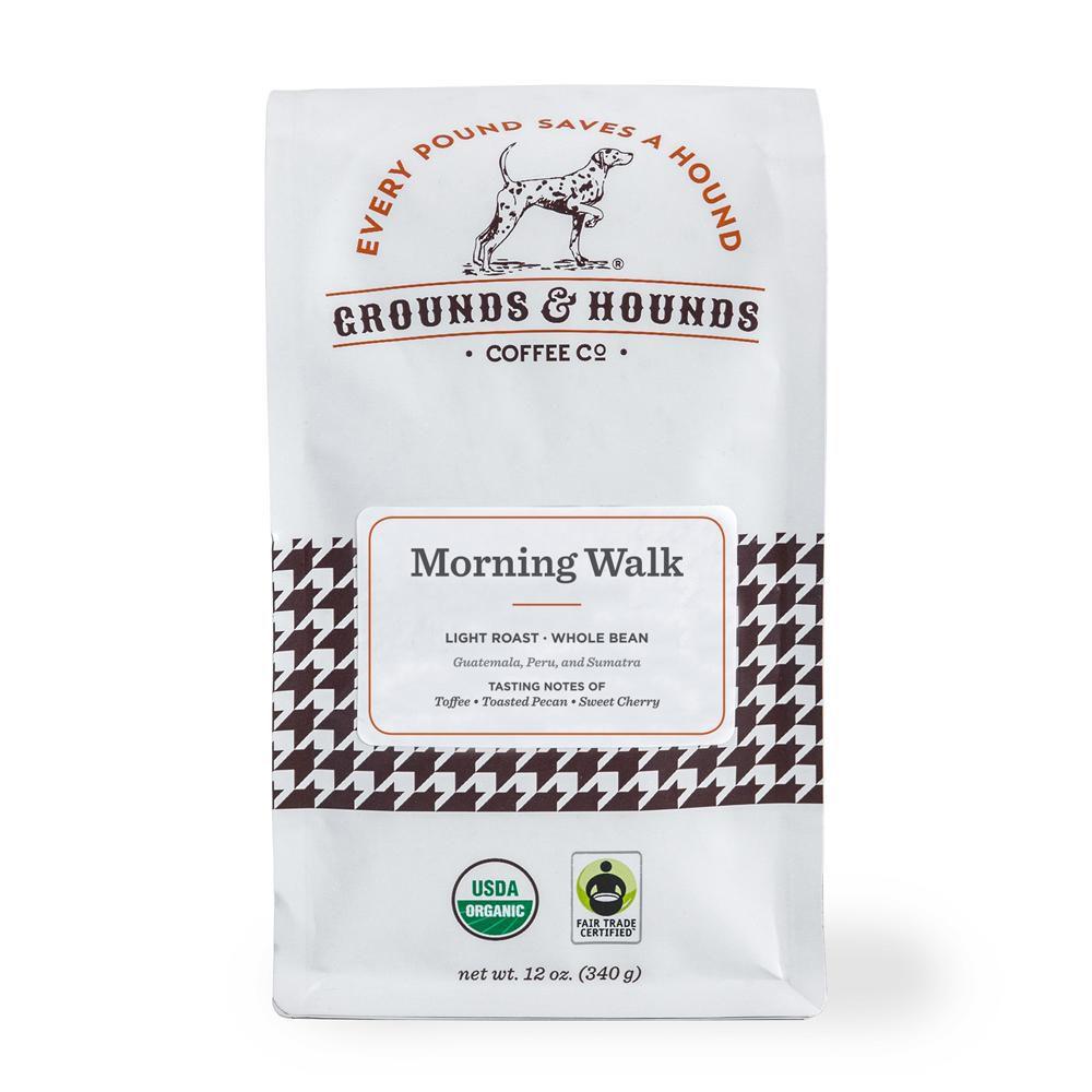 Grounds & Hounds Morning Walk Breakfast Blend Coffee