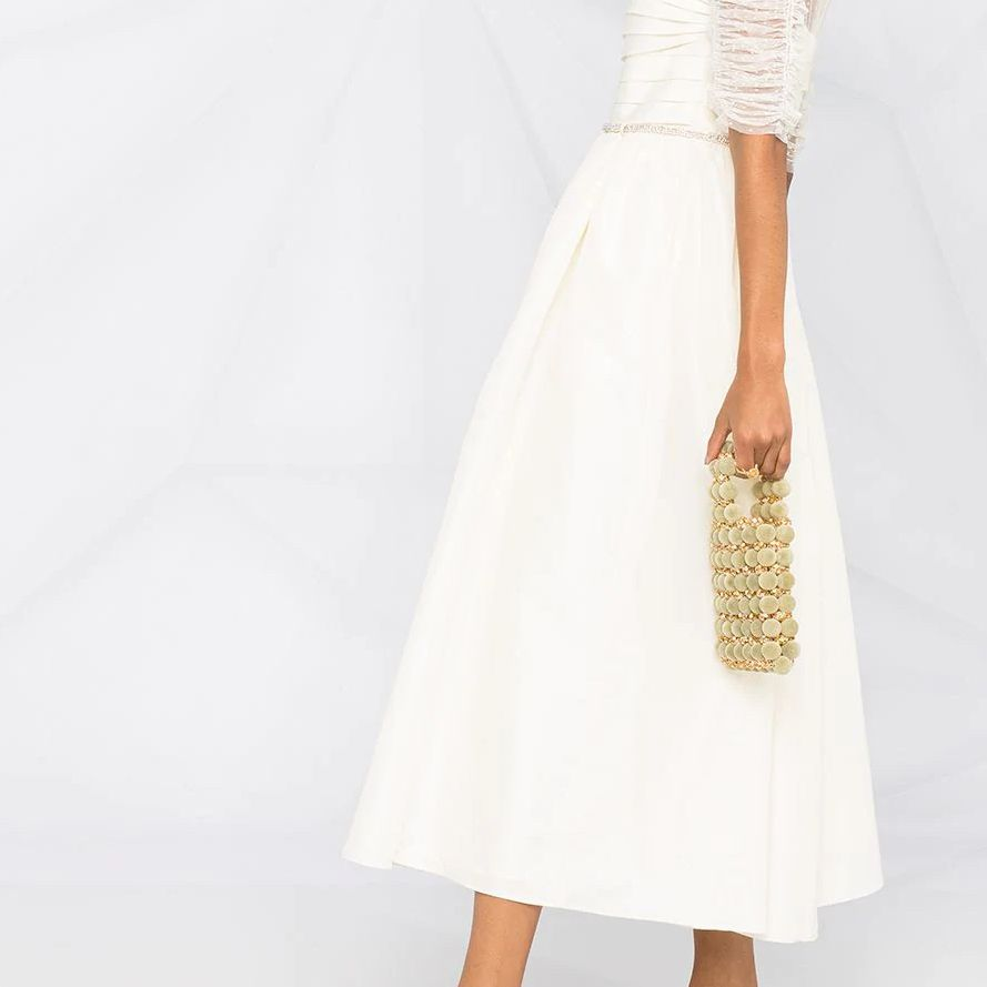ruched sleeves dress