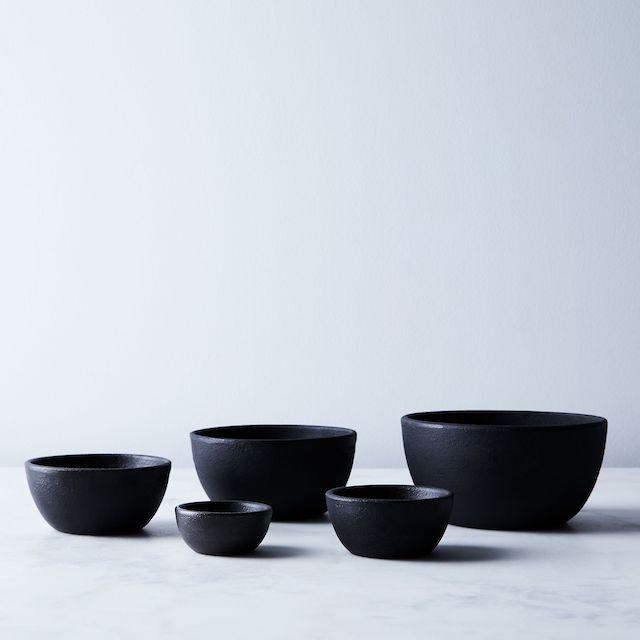 Nested Cast Iron Bowls