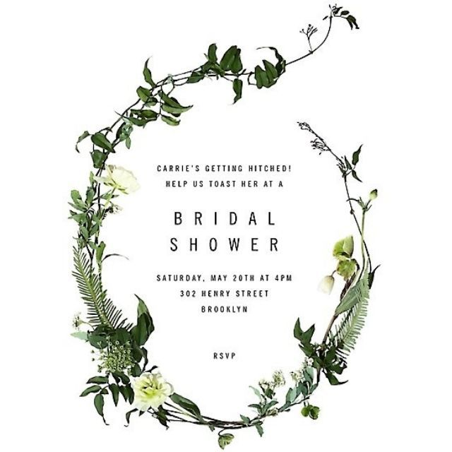 Paper Source Chincoteague Bridal Shower Invitation